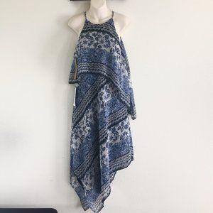 Rachel Roy Women's Blue Porcelain Floral Dress NEW